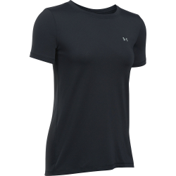 Women's UA HeatGear® Armour Short Sleeve Black