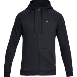 Under Armour Rival Fleece Full-Zip Hoodie Svart