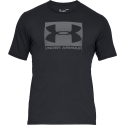 Under Armour Boxed Sportstyle Short Sleeve T-Shirt Black