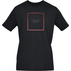 Under Armour SC30 Box Logo T-Shirt Svart