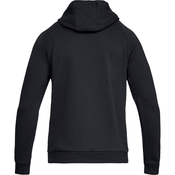 Men's Under Armour Rival Fleece Full-Zip Hoodie Black
