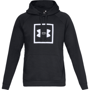 Men's Under Armour Rival Fleece Logo Hoodie Black