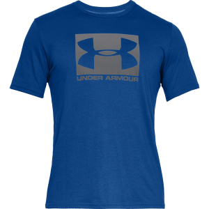 Under Armour Boxed Sportstyle Short Sleeve T-Shirt Blue