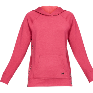 Under Armour Featherweight Fleece Hoodie Rosa